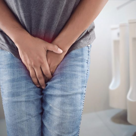 Incontinence is a common problem that affects women and men. Not only problematic for older individuals, it can occur at any age. Physical Therapy can be a very effective and non-invasive treatment for: <ul> <li>Stress Urinary Incontinence (leaking with cough, sneeze, or exercise)</li> <li>Urge Incontinence (leaking due to sudden, strong urge to urinate)</li> <li>Mixed Incontinence (combination of stress and urge)</li> <li>Fecal Incontinence (leaking of feces)</li> </ul>